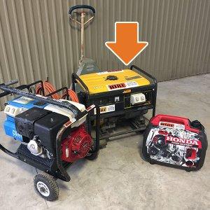 Petrol Generator-6kva-hire-otorohanga